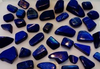 12- Lapis Lazuli Tumbled Stones