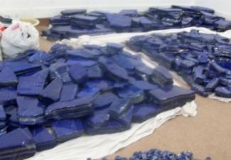 21- Lapis Lazuli Tumbled Stones