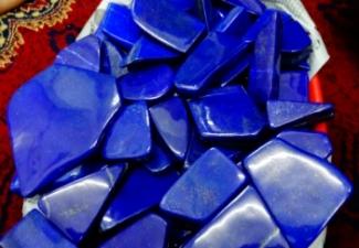 27- Lapis Lazuli Tumbled Stones