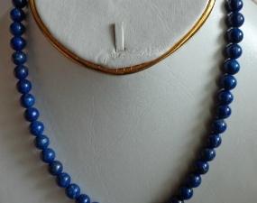 4- lapis beads