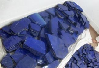 7- Lapis Tumbled Stones