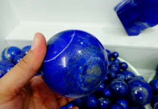 9- Lapis Lazuli Balls